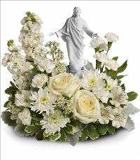 Forever Faithful Bouquet by McAdams Floral, your Victoria, Texas (TX) Florist