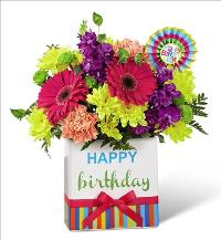 Birthday Brights Bouquet by McAdams Floral, your Victoria, Texas (TX) Florist