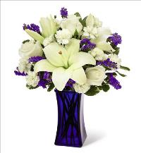Beyond Blue Bouquet by McAdams Floral, your Victoria, Texas (TX) Florist