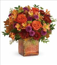 Golden Amber Bouquet by McAdams Floral, your Victoria, Texas (TX) Florist
