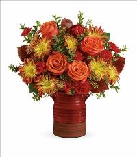 Heirloom Crock Bouquet by McAdams Floral, your Victoria, Texas (TX) Florist