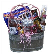 Wine Me Basket by McAdams Floral, your Victoria, Texas (TX) Florist