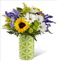 A Sunflower Sweetness Bouquet by McAdams Floral, your Victoria, Texas (TX) Florist