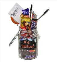 #1 Assistant Goodie Jar by McAdams Floral, your Victoria, Texas (TX) Florist