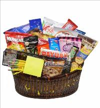 Please Take Note Snack Basket by McAdams Floral, your Victoria, Texas (TX) Florist