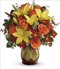 Citrus Harvest Bouquet by McAdams Floral, your Victoria, Texas (TX) Florist