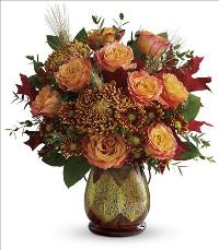 Fields of Amber Bouquet by McAdams Floral, your Victoria, Texas (TX) Florist