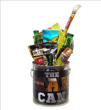 The Man Can Beer & Snacks by McAdams Floral, your Victoria, Texas (TX) Florist