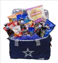 Cowboy Beer Cooler & Snacks by McAdams Floral, your Victoria, Texas (TX) Florist