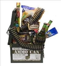 Ammo Can Beer Basket by McAdams Floral, your Victoria, Texas (TX) Florist