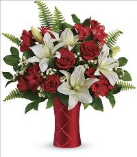 Sweetest Satin Bouquet by McAdams Floral, your Victoria, Texas (TX) Florist