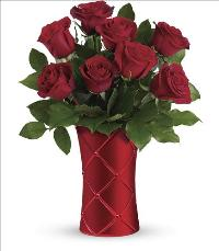 Crimson Luxury Bouquet by McAdams Floral, your Victoria, Texas (TX) Florist