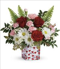 Pop Hearts Bouquet by McAdams Floral, your Victoria, Texas (TX) Florist