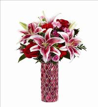 Lasting Romance Mosiac Bouquet by McAdams Floral, your Victoria, Texas (TX) Florist