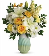 Art Of Spring Bouquet by McAdams Floral, your Victoria, Texas (TX) Florist