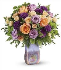 Amethyst Sunrise Bouquet by McAdams Floral, your Victoria, Texas (TX) Florist