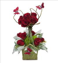 Rose Topiary Butterfly Design by McAdams Floral, your Victoria, Texas (TX) Florist