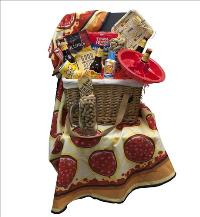 "A ""Guys"" Picnic Basket by McAdams Floral, your Victoria, Texas (TX) Florist"