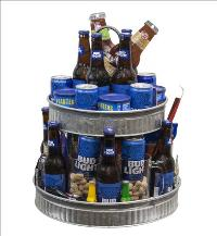 Beer Cake Tower by McAdams Floral, your Victoria, Texas (TX) Florist
