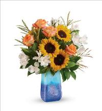 Sunflower Beauty Bouquet Standard by McAdams Floral, your Victoria, Texas (TX) Florist