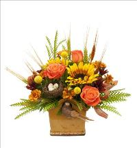 Autumn Birdhouse by McAdams Floral, your Victoria, Texas (TX) Florist