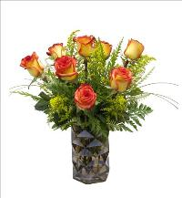 Autumn Color Roses by McAdams Floral, your Victoria, Texas (TX) Florist