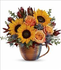 Golden Gratitude Bouquet by McAdams Floral, your Victoria, Texas (TX) Florist