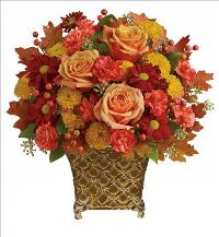 Heart Of Fall Bouquet by McAdams Floral, your Victoria, Texas (TX) Florist