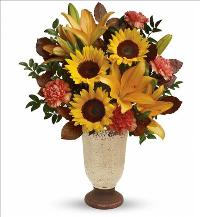 Fall Grace Bouquet by McAdams Floral, your Victoria, Texas (TX) Florist