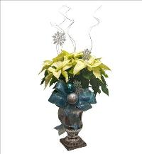 Silver Glitter Poinsettia by McAdams Floral, your Victoria, Texas (TX) Florist