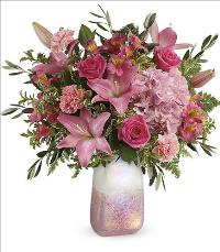 Blushing Gemstone Bouquet by McAdams Floral, your Victoria, Texas (TX) Florist