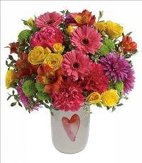 One Beating Heart Bouquet by McAdams Floral, your Victoria, Texas (TX) Florist