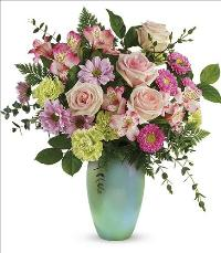Enamored With Aqua Bouquet by McAdams Floral, your Victoria, Texas (TX) Florist