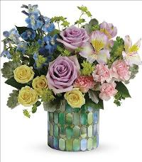 Stained Glass Blooms Bouquet by McAdams Floral, your Victoria, Texas (TX) Florist