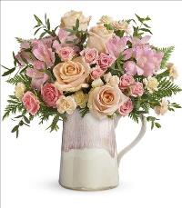 Artisanal Blush Bouquet by McAdams Floral, your Victoria, Texas (TX) Florist