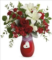 2021 Charming Heart Bouquet by McAdams Floral, your Victoria, Texas (TX) Florist