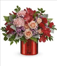 2021 Red Hot Love Bouquet by McAdams Floral, your Victoria, Texas (TX) Florist