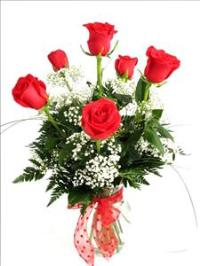 McAdams SIGNATURE 6 Long Stem Roses - Valentines by McAdams Floral, your Victoria, Texas (TX) Florist