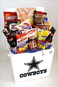 Cowboy Football Basket by McAdams Floral, your Victoria, Texas (TX) Florist