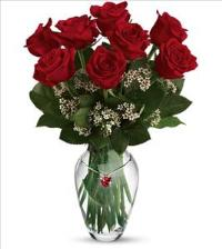FTF Red Ruby Charm Bouquet by McAdams Floral, your Victoria, Texas (TX) Florist