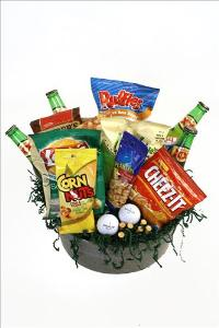 Par For The Course Basket by McAdams Floral, your Victoria, Texas (TX) Florist