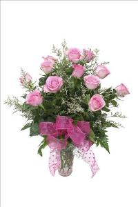 "McAdams ""Passionate Pink"" Roses Valentines by McAdams Floral, your Victoria, Texas (TX) Florist"