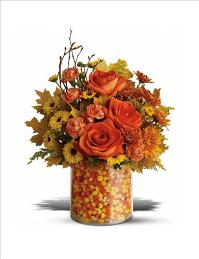 Candy Corn Surprise Bouquet by McAdams Floral, your Victoria, Texas (TX) Florist