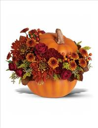 Prize Pumpkin Bouquet by McAdams Floral, your Victoria, Texas (TX) Florist