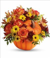 Warm Fall Wishes Bouquet by McAdams Floral, your Victoria, Texas (TX) Florist