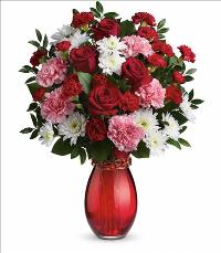 Sweet Embrace Bouquet Valentines by McAdams Floral, your Victoria, Texas (TX) Florist