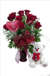 McAdams Key To My Love Rose Package by McAdams Floral, your Victoria, Texas (TX) Florist