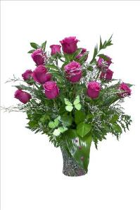 McAdams Cherished Roses Bouquet by McAdams Floral, your Victoria, Texas (TX) Florist