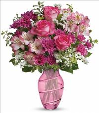 Pink Bliss Bouquet Standard by McAdams Floral, your Victoria, Texas (TX) Florist