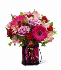 Pink Exuberance Bouquet by Better Homes and Gardens by McAdams Floral, your Victoria, Texas (TX) Florist